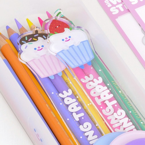 HAPPY SWEETS MASKING TAPE HOLDER 3type *단종예정