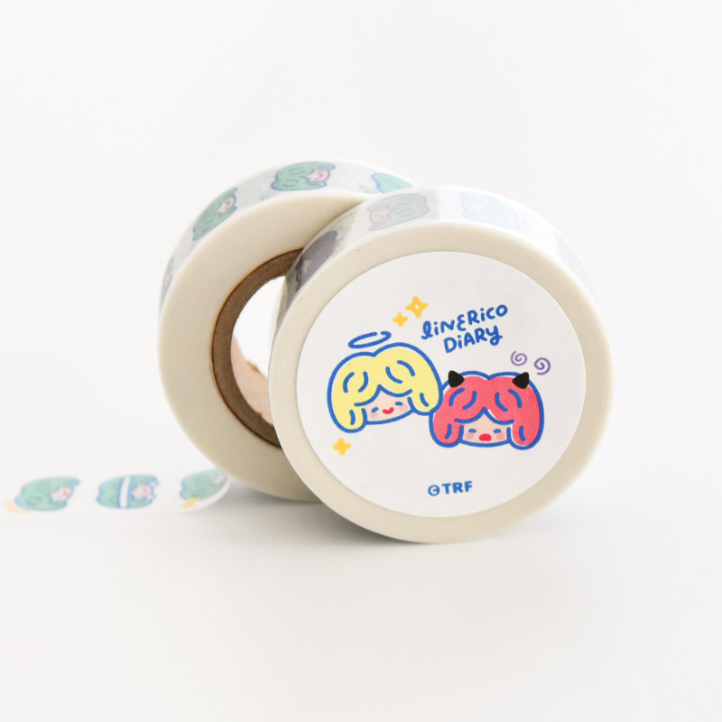 LINE RiCO DIARY MASKING TAPE - COLOR