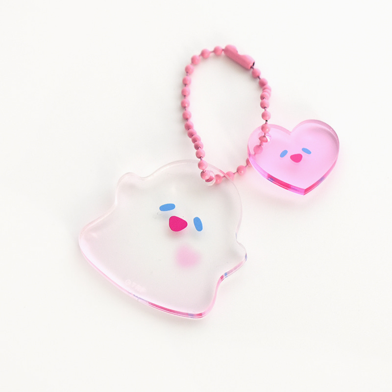 BABOO IN LOVE TWIN KEYRING