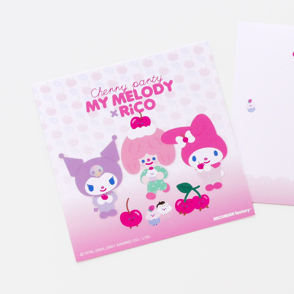 MY MELODY x RiCO CHERRY PARTY CARD