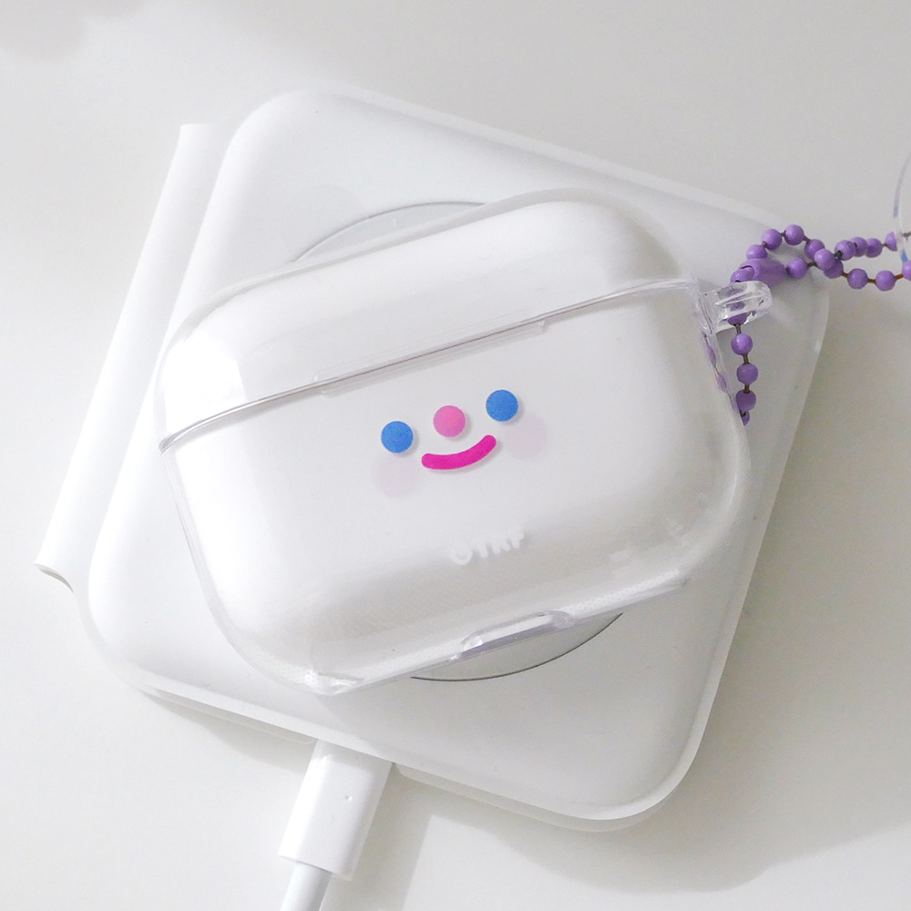 AIRPODS PRO CLEAR CASE - RiCO SMILE