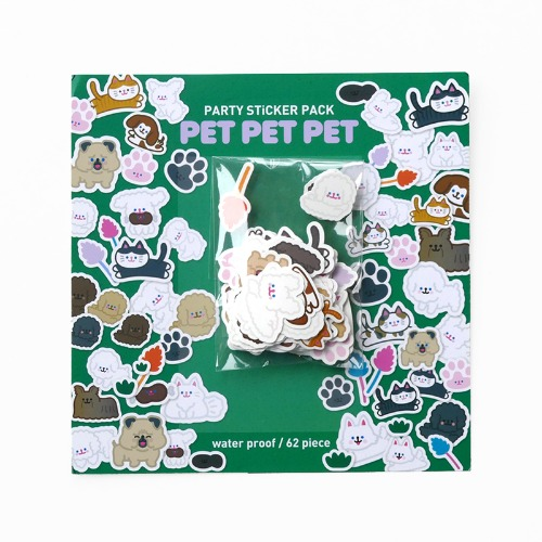 PET PET PET STICKER PACK *단종예정