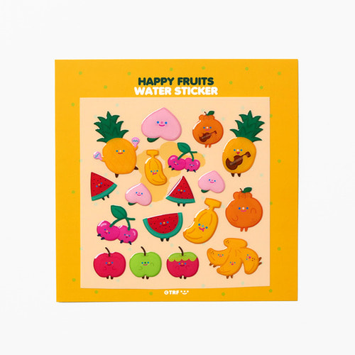 HAPPY FRUITS WATER STICKER *단종예정
