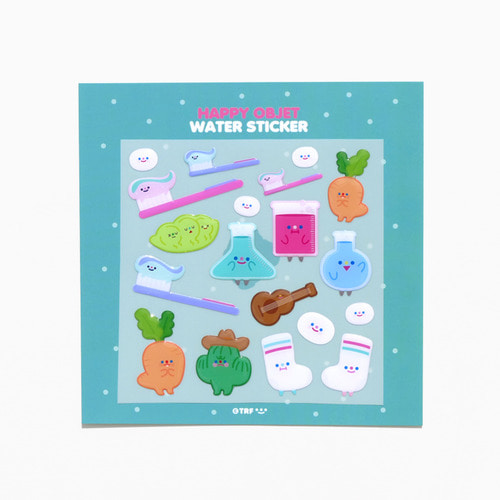 HAPPY OBJET WATER STICKER *단종예정