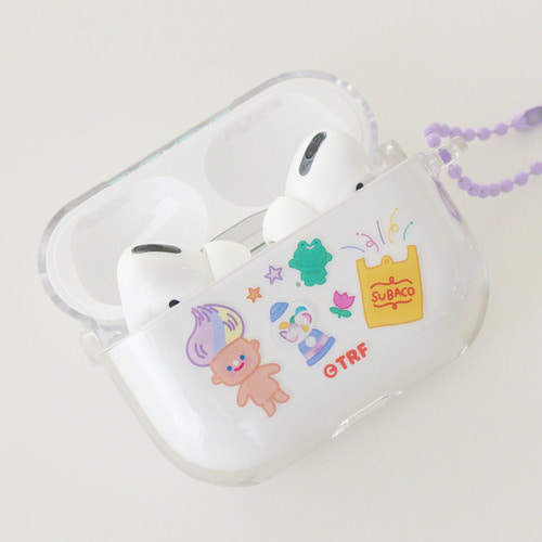 AIRPODS PRO CLEAR CASE - WAGLE WAGLE SUBACO *단종예정