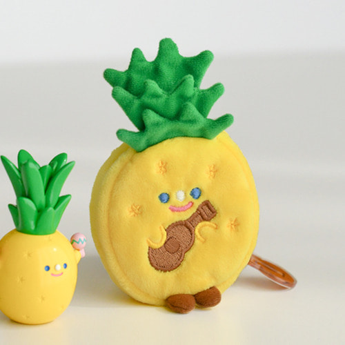 TRF KEYRING POUCH - PINEAPPLEE