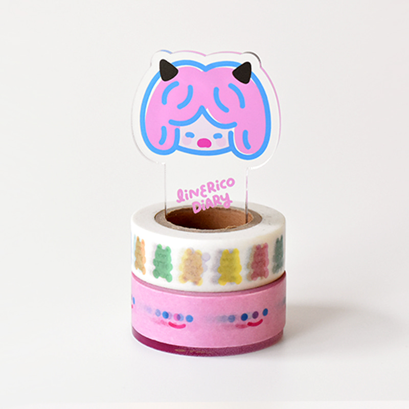 LITTLE MASKING TAPE HOLDER - DEVIL