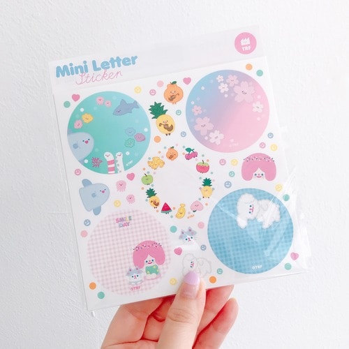 MINI LETTER STICKER